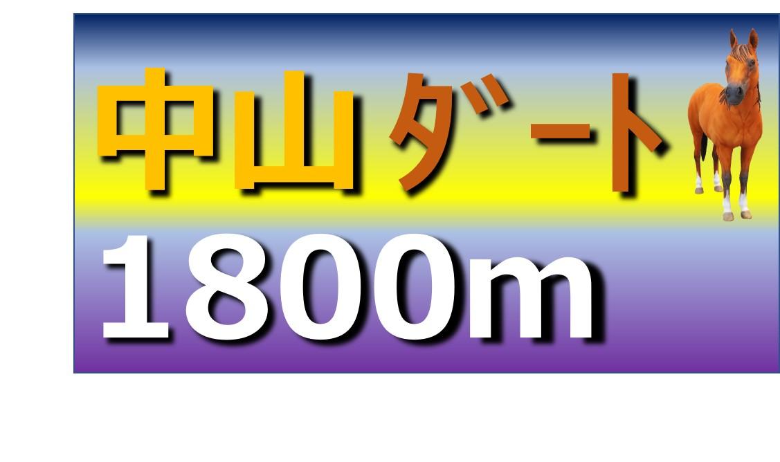 中山 ダート 1800m