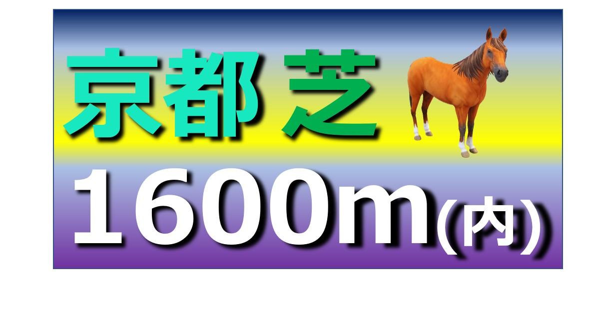 京都 芝 1600m(内)