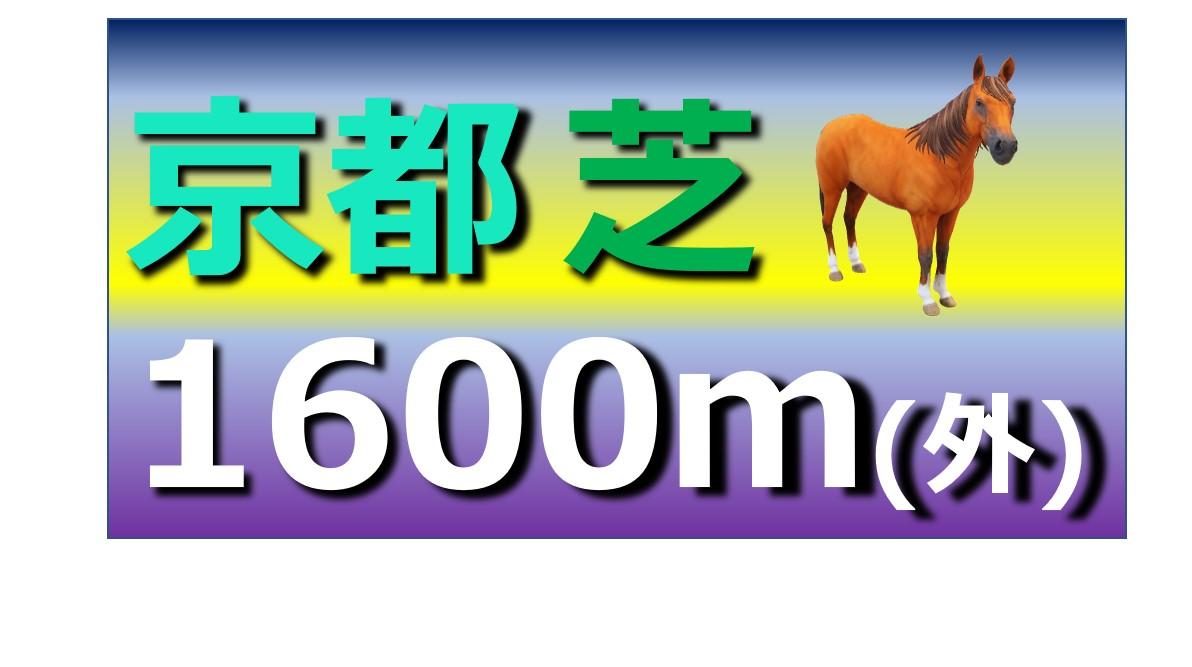 京都 芝 1600m(外)