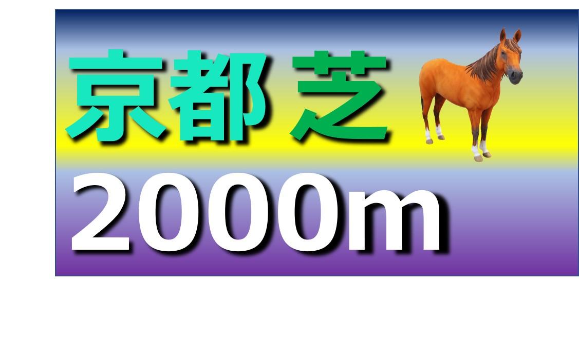 京都 芝 2000m