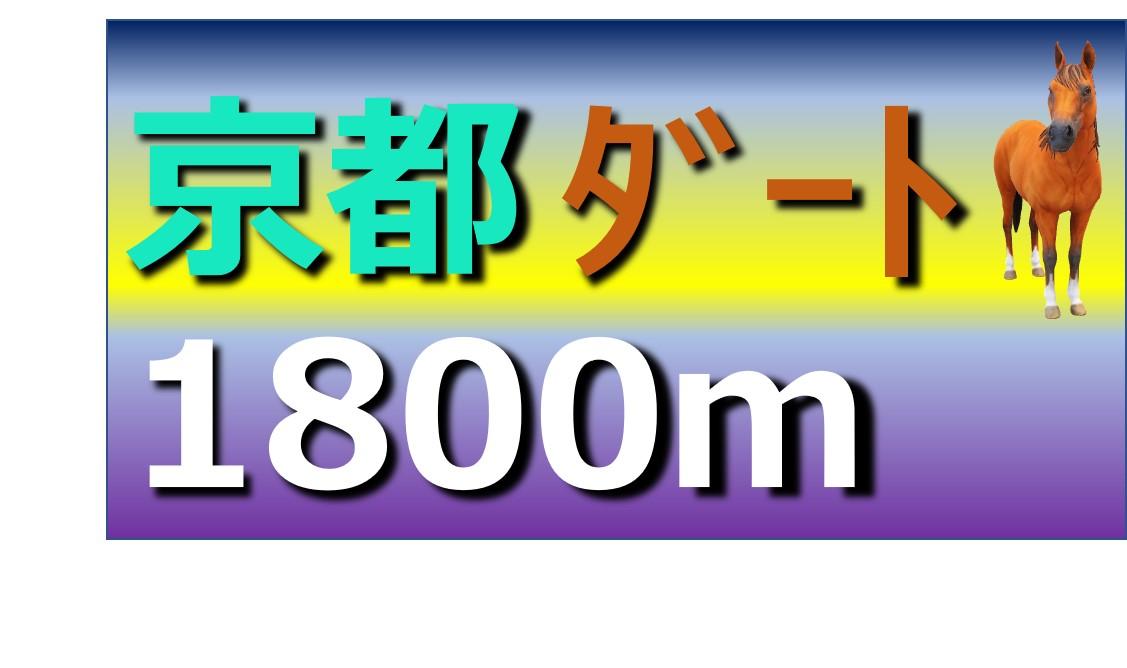 京都 ダート 1800m