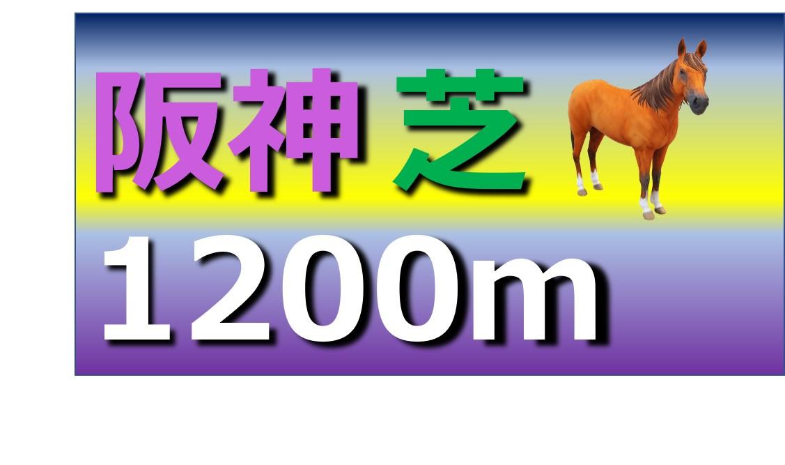 阪神 芝 1200m