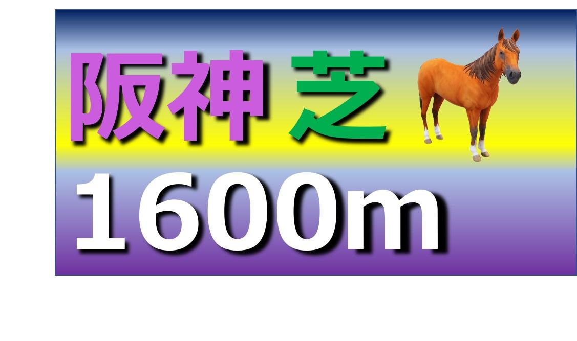 阪神 芝 1600m