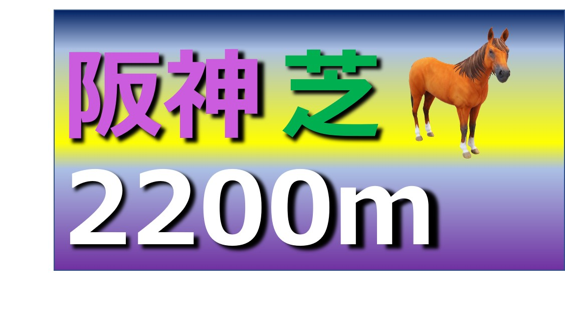 阪神 芝 2200m