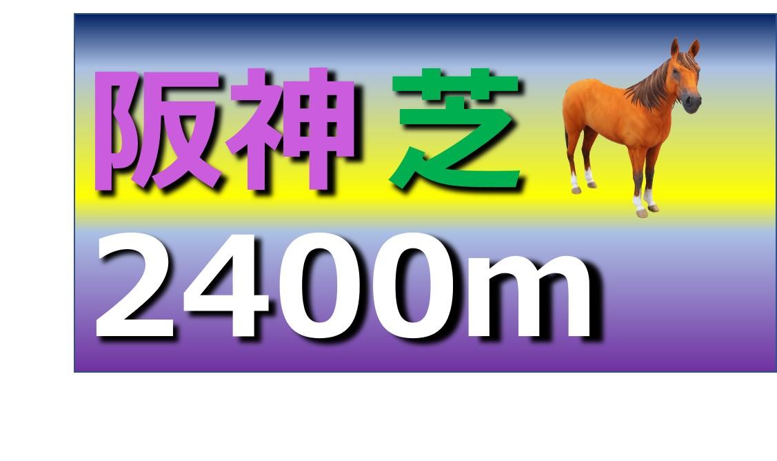 阪神 芝 2400m